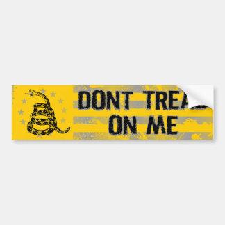 Dont Tread On Me Bumper Sticker