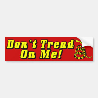 Don't Tread On Me! Bumper Sticker