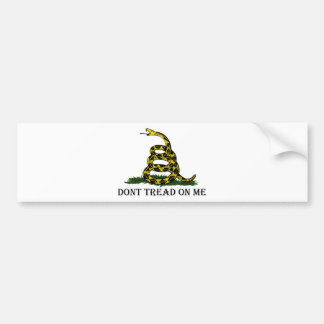 Dont Tread On Me Bumper Stickers