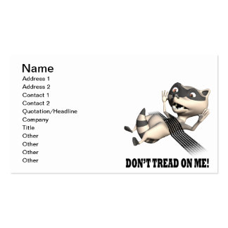 Dont Tread On Me Business Card