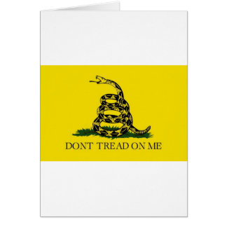 Don't Tread On Me Card