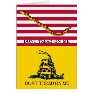 """""""Don't Tread On Me"""" Card"""