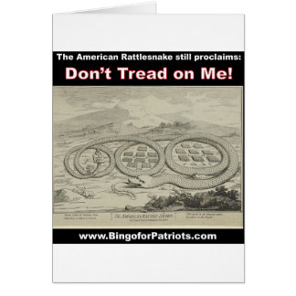Don't Tread on Me Cards