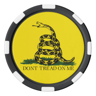 Don't Tread On Me Casino Quality Poker Chips