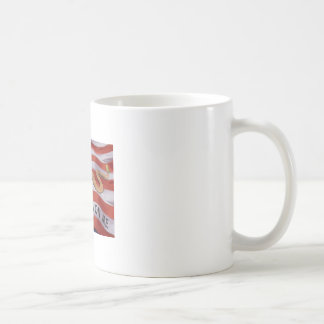 don't tread on me classic white coffee mug