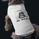 "Dont Tread On Me Dog T-Shirt<br><div class=""desc""></div>"