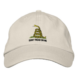 Dont Tread On Me Embroidered Baseball Hat