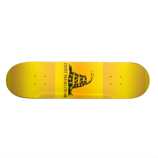 Don't Tread on Me Ensign Skate Deck
