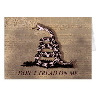 Don't Tread On Me Event Card