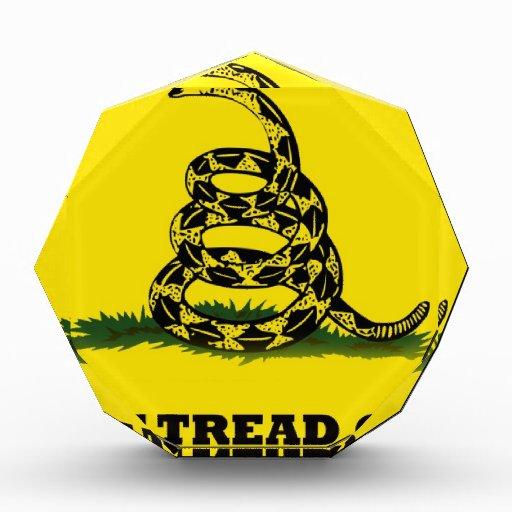 Don't Tread On Me flag Award