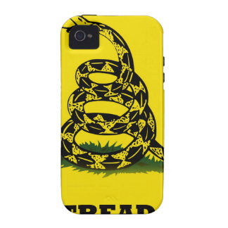 Don't Tread On Me flag Case-Mate iPhone 4 Cases