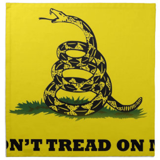 Don't Tread On Me flag Cloth Napkins