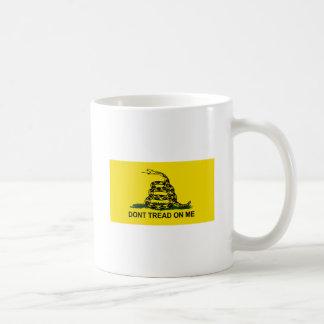 dont tread on me flag coffee mug