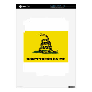Don't Tread On Me flag Decal For The iPad 2