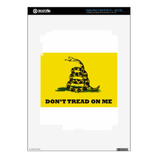 Don't Tread On Me flag Decals For iPad 3