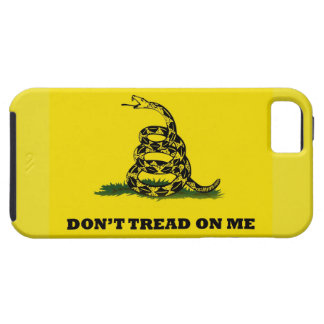 Don't Tread On Me flag iPhone 5 Cases