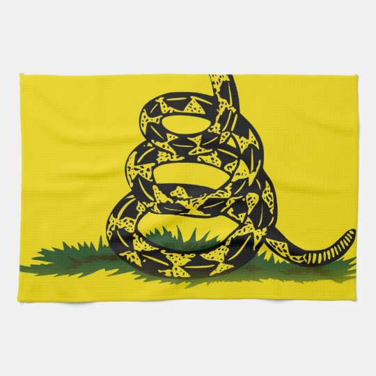 Don't Tread On Me flag Kitchen Towels