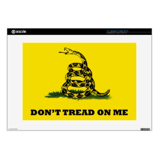 Don't Tread On Me flag Laptop Decals