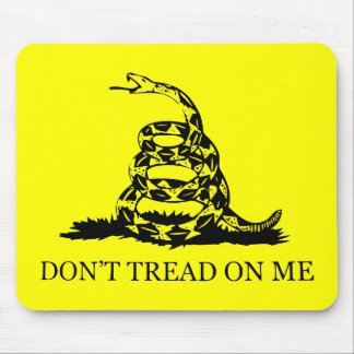 Don't Tread On Me Flag Mouse Pad