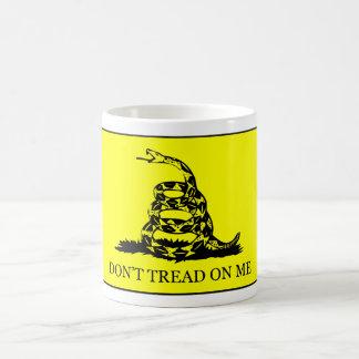 Don't Tread On Me Flag Classic White Coffee Mug