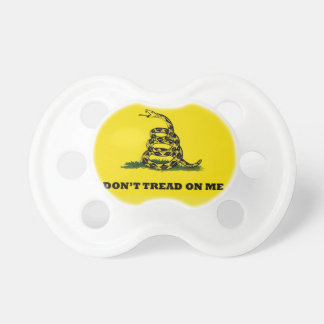 Don't Tread On Me flag Pacifier