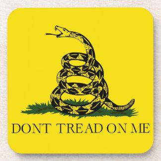 Don't Tread on Me Gadsden American Flag Coaster