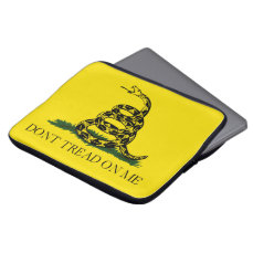 Don't Tread on Me Gadsden American Flag Computer Sleeve