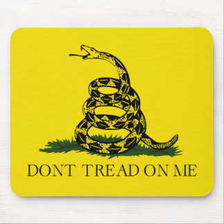 Don't Tread on Me Gadsden American Flag Mouse Pad