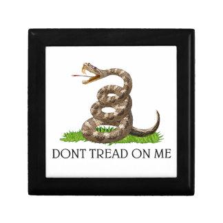 Dont Tread On Me Gadsden American Revolution Flag Gift Box