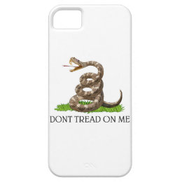Dont Tread On Me Gadsden American Revolution Flag iPhone SE/5/5s Case