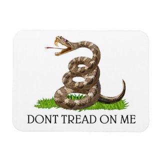 Dont Tread On Me Gadsden American Revolution Flag Magnet