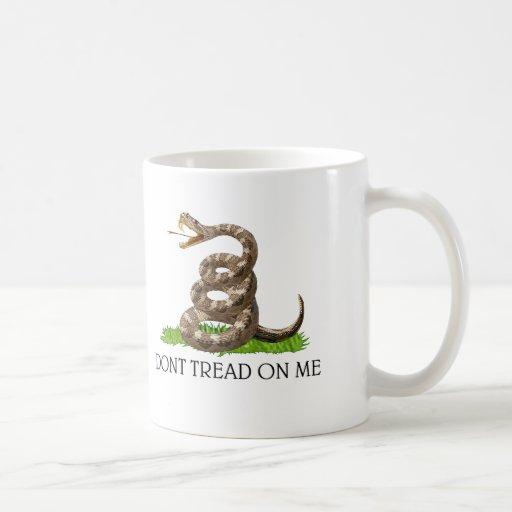 Dont Tread On Me Gadsden American Revolution Flag Mug