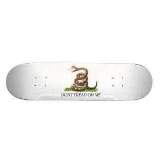 Dont Tread On Me Gadsden American Revolution Flag Skate Board