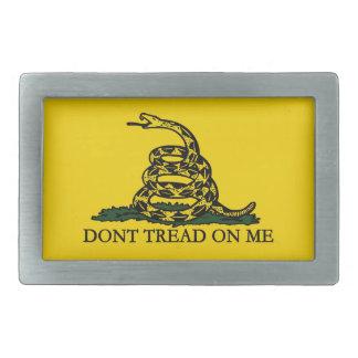 Don't Tread on Me Gadsden Flag Belt Buckle