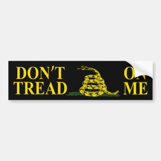 DON'T TREAD ON ME GADSDEN FLAG Bumper Sticker Bumper Stickers