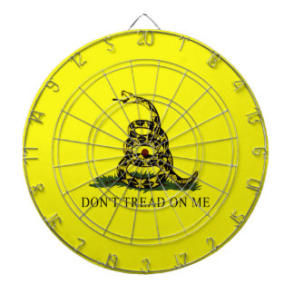 Dont Tread On Me Gadsden Flag Dart Board
