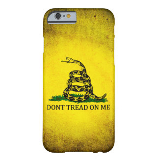 Dont Tread On Me Gadsden Flag - Distressed Barely There iPhone 6 Case