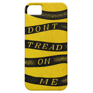 Don't Tread On Me Gadsden Flag iPhone 5 Cases