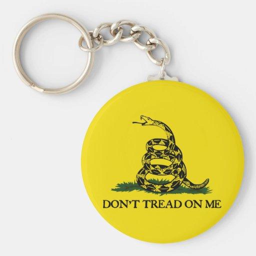 Don't Tread On Me-Gadsden Flag Keychains