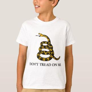 don't tread on me - gadsden flag libertarian T-Shirt