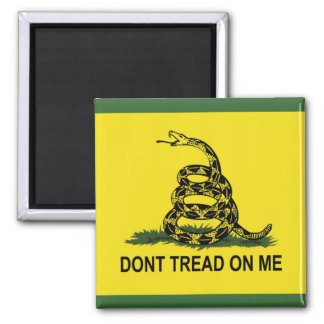 Dont Tread On Me: Gadsden Flag Refrigerator Magnets