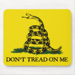 Don't Tread On Me-Gadsden Flag Mouse Pad