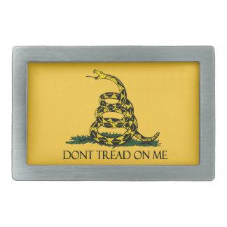 Don't Tread on Me, Gadsden Flag Patriotic History Belt Buckle