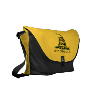 Don't Tread on Me, Gadsden Flag Patriotic History Courier Bag
