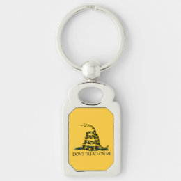 Don't Tread on Me, Gadsden Flag Patriotic History Keychain
