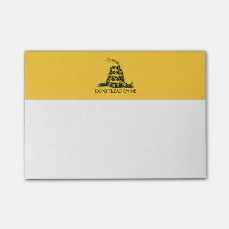 Don't Tread on Me, Gadsden Flag Patriotic History Post-it Notes