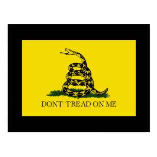 Don't Tread On Me - Gadsden Flag Post Cards