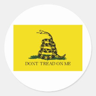 Don't Tread On Me - Gadsden Flag Stickers