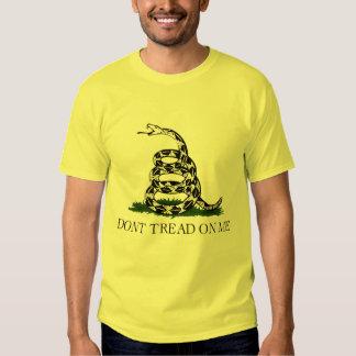 Don't Tread on Me, Gadsden flag tea party Shirt