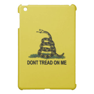 Dont Tread On Me Gadsden Flag Tea Party Symbol iPad Mini Cases